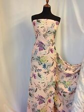 "NEW Beautiful Designer Polyester Chiffon Georgette Floral Print Fabric 60""151cm"