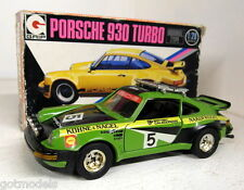 Eidai Grip 1/28 Scale 1500 Porsche 930 911 Turbo Rally green Vintage diecast car