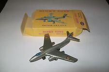Modèle réduit  avion SO Vautour de marque  Dinky Toys + boite