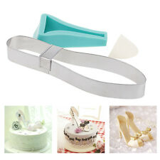 1 Set Silicone High-heeled Shoe Shaped Mold Fondant Cake Decorating Baking Tool
