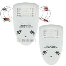 2X Ultrasonic Electronic Anti Mosquito Rat Mice Rodent Pest Bug Control Repeller