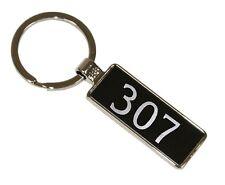 Porte-clés clefs keychain keyring pour Peugeot 307