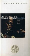 Davis, Miles Kind of Blue GOLD CD Mastersound SBM Longbox nur CD Neu OVP Sealed