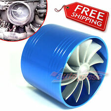 TURBO Supercharger AIR INTAKE TURBONATOR Blue Gas Fuel Saver Fan fits SUZUKI