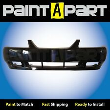 2002 2003 2004 Ford Mustang GT Front Bumper Painted UD Ebony Black