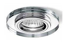 faretto lampada incasso cromo rotondo diametro 9 cucina sala bagno