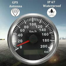 Car Motor Auto Stainless GPS Speedometer 200 KM/H Waterproof Digital Gauges
