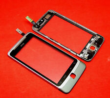 ORIGINALE HTC Desire Z a7272 TOUCHSCREEN TOUCH SCREEN VETRO DIGITIZER QUADRO FRAME
