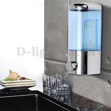 450ml Wall Mount Soap Shampoo Shower Gel Dispenser Liquid Foam Lotion Bottle