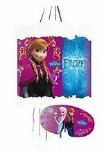 DISNEY FROZEN PULL STRING PINATA & BLINDFOLD - CHILDRENS PARTY GAME 395-808