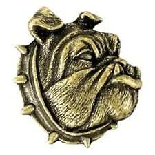 Bulldog Mascot Jacket Pin, Bulldog Letterman Jacket Award Pin
