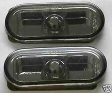Seat Leon Mk2 2005 onwards Black Smoked Mirror Side Repeaters 1 Pair inc bulbs