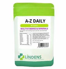 Completare A-Z DAILY multivitamin 90 Compresse adulti uomini / Donne Multi Vitamine S