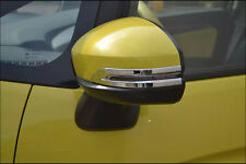 Side Door Mirrors Rearview Stripe Cover TRIM For Honda FIT JAZZ 2014 2015