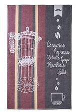 Geschirrtuch Küchentuch Expresso Espresso, Fa. Coucke