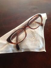 VINTAGE MADE IN FRANCE BLACK CAT-EYE EYEGLASSES FRAME France Selecta 5 1/4