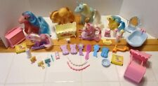 Vintage 1980s Lot Of My Little Pony & Accessories. Ex!