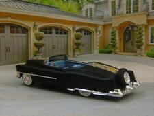 Matte Black Lead Sled 1953 Cadillac Eldorado Convertible 1/64 Scale Ltd Edit Q