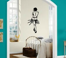 Wall Stickers Vinyl Decal Beautiful Girl in a Skirt Dance Passion (ig1090)