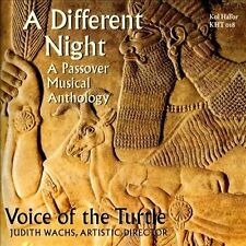Voice of the Turtle-A Different Night: A Passover Musical Anthology  CD