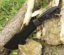 "11"" TACTICAL COMBAT ""THE HUNTED"" TRACKER KNIFE Survival Hunting Fixed Blade"