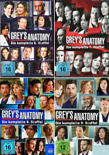 GREY'S GREYS ANATOMY  DIE KOMPLETTE STAFFEL 6 + 7+ 8 + 9 DVD DEUTSCH