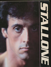 Sylvester Stallone: An Illustrated Life by Marsha Daly 1984 PB 1st ed, 1st print