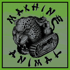 "MACHINE ANIMAL 'Live In Wreck 7"" - edition of 200 blue haze vinyl Mono Men"