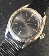 RARE 50'S VINTAGE TUDOR SMALL ROSE 7934 SS MANUAL WIND MENS WATCH