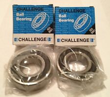 KAWASAKI ZX6R Z650 ZX7R ZX9R ZX12R CHALLENGE BRANDED REAR WHEEL BEARINGS