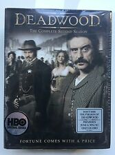 Deadwood - The Complete Second Season (DVD, 2006, 6-Disc Set) Factory Sealed
