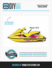 SP XP SPI SEA DOO YELLOW Seat Skin Cover 89 90 91 95 96 ~FREE MANUAL AVAILABLE!~