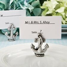 100 Nautical Anchor Beach Place Card & Photo Holder Shower Party Favors