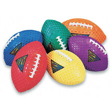 "Color My Class® Fun Gripper Footballs - 8 1/2"" Set of 6"