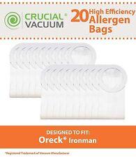 20 Oreck XL Ironman Bags Fit Oreck XL Ironman Vacuums Part # PKIM765