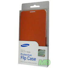 OEM NEW Samsung EFC-1E1COBEGSTA Orange Protective Flip Case Galaxy Note i717 RT