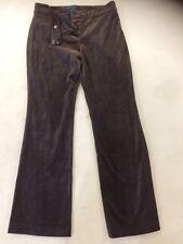 Boden Brown Velvet Trousers Size 12R