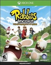 Rabbids Invasion The Interactive TV Show Xbox One Brand New Sealed