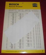 dachbodenfund alt starter batterie  preisliste bosch gmbh 12 v / 6v  16 nov.1970