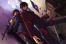 POSTER CODE GEASS LELOUCH OF REBELLION RURUSCIU NUNNALLY SUZAKU ANIME MANGA #11