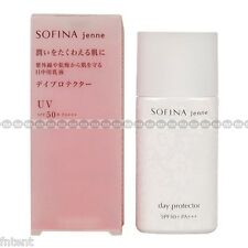SOFINA Jenne KAO Japan UV Day Protector SPF50+ PA+++ 30ml New
