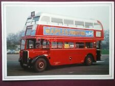 PHOTO  LONDON TRANSPORT BUS - ADVERTISING MAPLE FURNITURE
