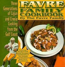 Favre Family Cookbook: Three Generations of Cajun and Creole Cooking f-ExLibrary