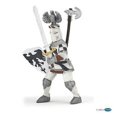Knight with Eagles helmet white 10 cm knight and Castles Papo 39785 NOVELTY 2015