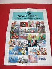 Games Catalogue SEGA MASTER SYSTEM 2 II
