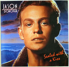 Jason Donovan - Sealed with a Kiss - Maxi LP - washed - cleaned - # L 1769