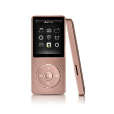AGPTEK® MP3 Music Player With Digital LCD Screen Supports up to 64GB Golden