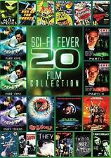 Sci-Fi Fever: 20 Movies (DVD, 2013, 4-Disc Set)