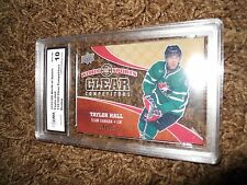 2010 Worlds of Sports Taylor Hall 139/550 Clear Trading Card Rookie Graded 10