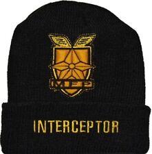 Mad Max Interceptor Logo Wool Hat Black Beanie Knit The Road Warrior MFP
